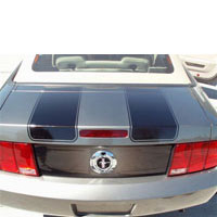 Mustang Sport Fade trunk Panel Insert Kit