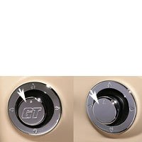 Mirror Adjust Knob Cover in GT or Smooth Finish - 05-09
