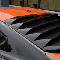 Mustang Rear Window Louver - 2015