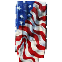 Mustang 2005-2012 Painted Plenum Cover (American Flag)