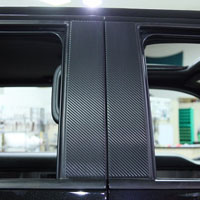 Ford Raptor Pillar Post Carbon Fiber Wrap 4Pc -2009-2013
