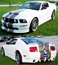 2005+ Mustang Razzi 4pc. Body Kit - GT & V6
