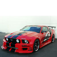 Mustang S197 GT-R 10pc Widebody Aerodynamic Kit - 05-09