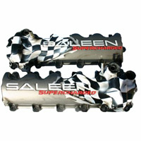 Saleen in Grey w/ Checkered Flag Valve Covers - 05-09