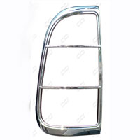 Ford Super Duty Coast2Coast Chrome Taillight Bezels - 08+