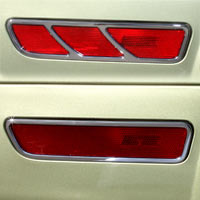 Billet Chrome Side Marker Highlights