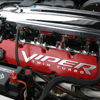 Viper 10pc Valve Cover Letter Set Polished - 03-06