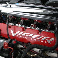 Viper 10pc Valve Cover Letter Set Polished - 08-10