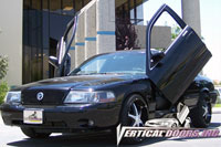 Mercury Marauder Bolt-On Vertical Doors Door Kit - 03-04