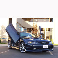 Ford Mustang Bolt-On Vertical Doors Door Kit - 79 & Up