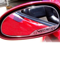 Viper 2pc Side View Mirror Trim Viper SRT-10/Viper Head - 03-04