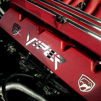 Viper Valve Cover Letter Set with Viper Head Polished - 92-02