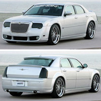 Chrysler 300C & 300 Xenon Body Kit/Replacement Fascia - 05-08