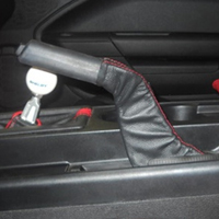 Shelby Emergency Brake Leather Handle Wrap