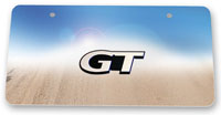 GT Stainless Steel Mirror Finish License Plate