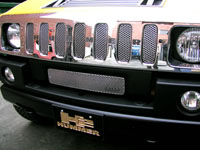 H2 Hummer Upper Oem Brush Bar