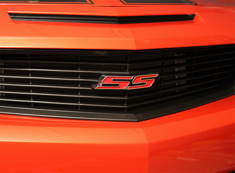 Chevy Camaro SS Heritage Grille Emblems - 2010+ [***HGEPR ...