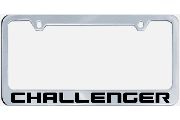 Challenger License Plate Frame [D0V1] - $32.95 : Parts & Accessories ...