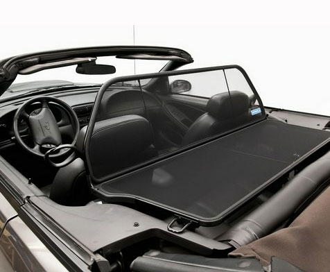 Mustang Convertible Wind Deflector 94 04 Must94winddef Parts Accessories