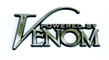 """Powered by Venom\"" Emblem"