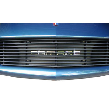 Camaro Front Grille Stainless Steel Inserts