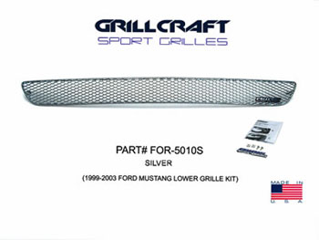 Mustang Grille Lower (Center Only) 99-04
