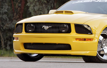 GT Styling Smoke Fog Light Covers - 05-09 Ford Mustang GT