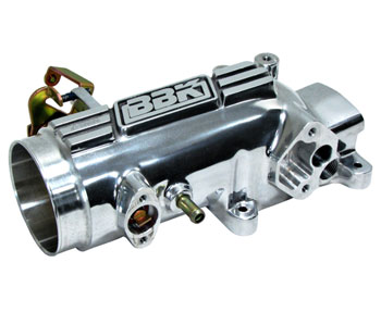 Mustang GT 4.6L Polished Throttle Intake - 96-04