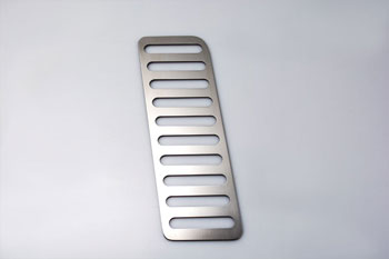Mustang Dead Pedal Trim Plate - 2015