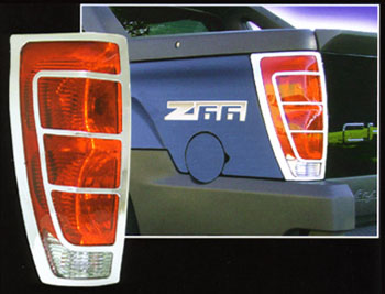 Avalanche ABS Chrome Tail Light Bezels