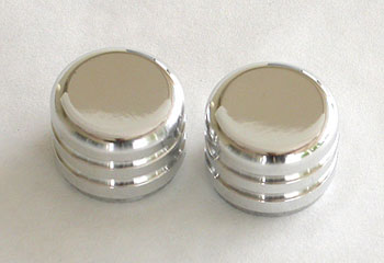 C6 / Z06 A/C & Radio Billet Knobs (set of 2)