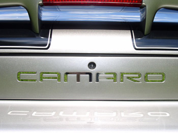 1993-2002 Camaro Inserts: Silver or Black