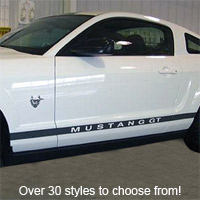 Mustang Rocker Panel Stripe Kit - 79-11