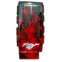 Mustang 2005-2012 Painted Plenum Cover (Fire)