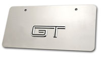05+ Stainless Steel Mirror Finish GT Licence Plate