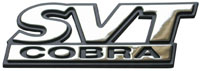 SVT Cobra Trunk Emblem